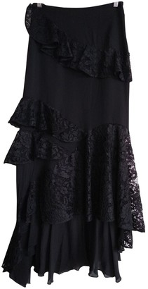 Sachin + Babi Black Silk Skirts