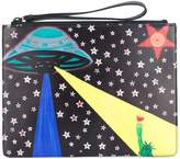 Christopher Kane printed clutch