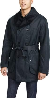 Barbour x Engineered Garments Mackinaw Wax Jacket