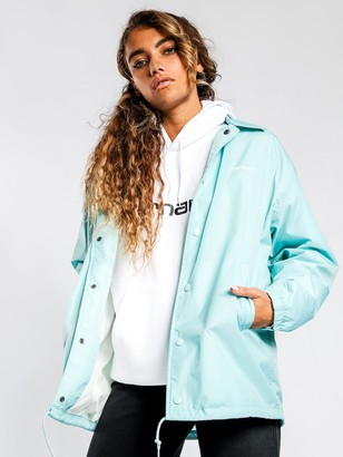 Carhartt Script Coach Jacket in Light Blue