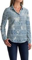 dylan Eyelet Embroidered Shirt - Long Sleeve (For Women)