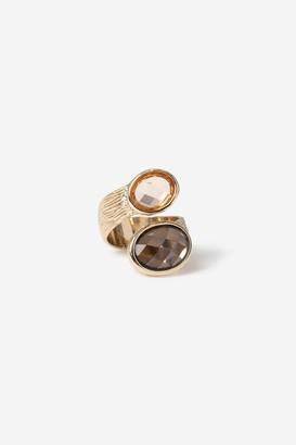Topshop Textured Wrap Ring