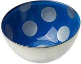 Sheridan Silver & Sapphire Polka Dot Condi Bowl