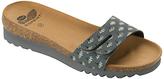 Scholl Lunwin Thin Strap Mule Sandals, Dark Grey