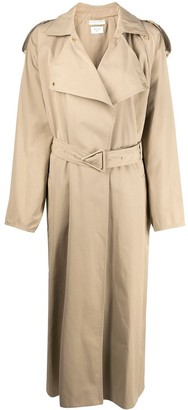 Bottega Veneta Belted Oversized Trench Coat