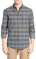 Ben Sherman Brushed Prince Of Wales Regular Fit Shirt