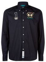 La Martina Logo Patch Shirt