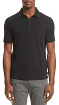 Armani Collezioni Men's Tipped Stretch Cotton Polo