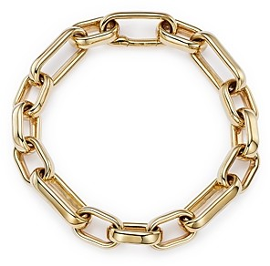 Alberto Amati 14K Yellow Gold Large & Small Link Chain Bracelet - 100% Exclusive