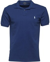Polo Ralph Lauren Mens Custom Fit Polo Yale Blue