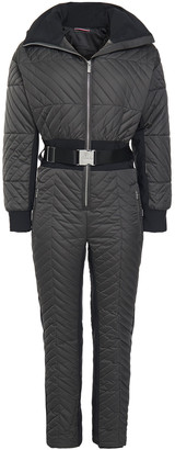 Fusalp Rebecca Belted Quilted Ski Suit