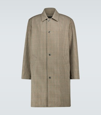 MACKINTOSH Halkirk wool overcoat