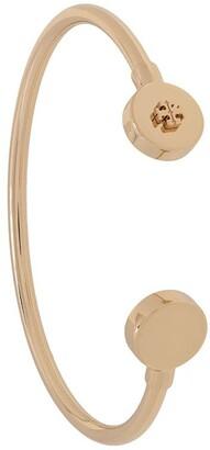 Tory Burch Metallic-Tone Wrap Bracelet