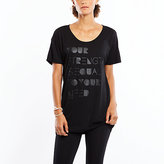 Lucy Short Sleeve Graphic Tee- Your Strength