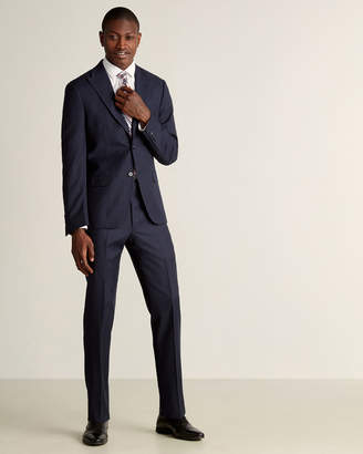DKNY Two-Piece Driscoll Vertical Stripe Milled Wool Suit