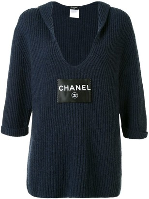 Chanel Pre Owned 2008 Back-Tie Knitted Top