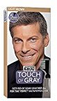 Just For Men Touch of Gray Men's Hair Color, Light Brown (Pack of 3)