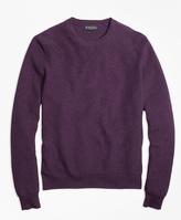 Brooks Brothers Supima® Cotton Cashmere Textured Crewneck Sweater