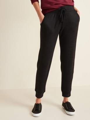 Old Navy Mid-Rise Sweater-Knit Jogger Pants for Women