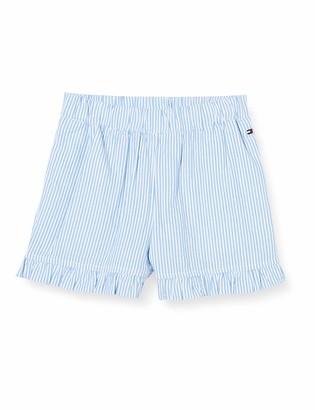 Tommy Hilfiger Girl's Ruffle Ithaca Stripe Shorts