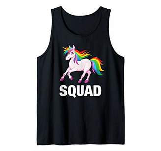 Unicorn Squad - Funny Team Cool Boys Girls Teens Party Gift Tank Top