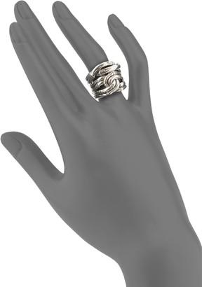 John Hardy Sterling Silver Bamboo Ring