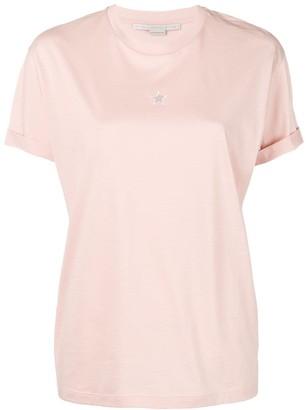 Stella McCartney Stella star cut out T-shirt