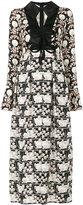 Giamba printed maxi dress - women - Silk/Acrylic/Polyester/Viscose - 40