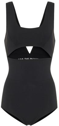 Live The Process Cut-out bodysuit