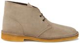 Clarks Originals Desert Boots Wolf Suede