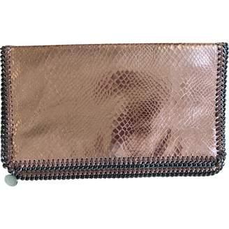 Stella McCartney Stella Mc Cartney Falabella Metallic Synthetic Clutch bags