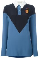 Stella McCartney 'Ornella' long sleeved jersey top - women - Silk/Polyester - 40