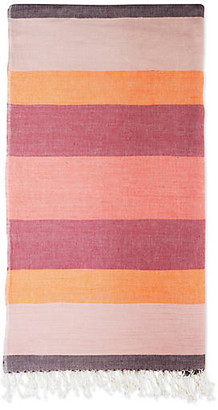 Bole Road Textiles Afar Throw - Dusk