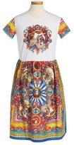 Dolce & Gabbana Toddler Girl's Graphic Print Dress