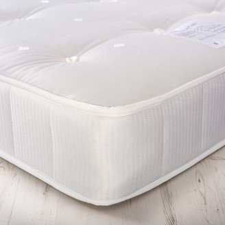 House by John Lewis Added Comfort Open Spring Mattress, Medium Tension, Small Double