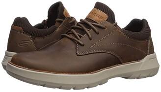 Skechers Relaxed Fit Doveno - Vander (Dark Brown) Men's Shoes
