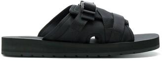 Prada buckle open-toe sandals