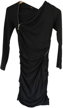 Maje Anthracite Cotton Dresses