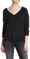 Cupcakes And Cashmere Cole Cashmere V-Neck Sweater