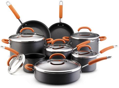 Rachael Ray Nonstick Orange Cookware Set