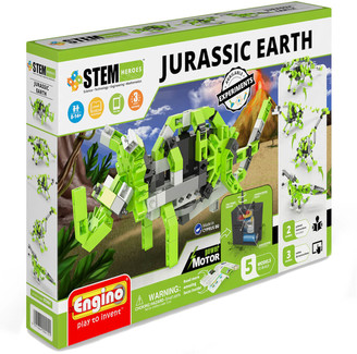 Engino Stem Heroes Jurassic Earth Motorized Vehicles