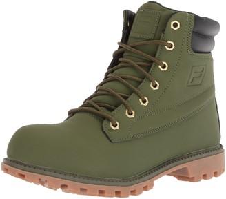 Fila Men's WATERSEDGE 17 Hiking Boot Black 11.5 Medium US