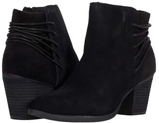 Skechers Homestead - Wrapped Heel Bootie (Black/Black) Women's Boots