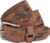 A. Kurtz Hadden Leather Camo Belt