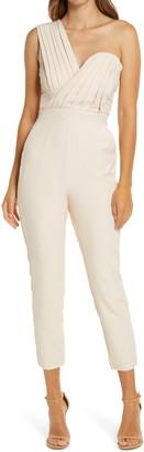 Lavish Alice One-Shoulder Jumpsuit