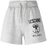 Moschino branded drawstring shorts - women - Polyester/Viscose - 38