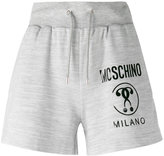 Moschino branded drawstring shorts