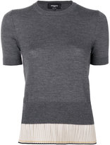 Rochas fine knit top - women - Silk/Wool - 42