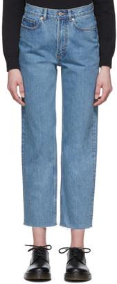 A.P.C. Blue Alan Jeans
