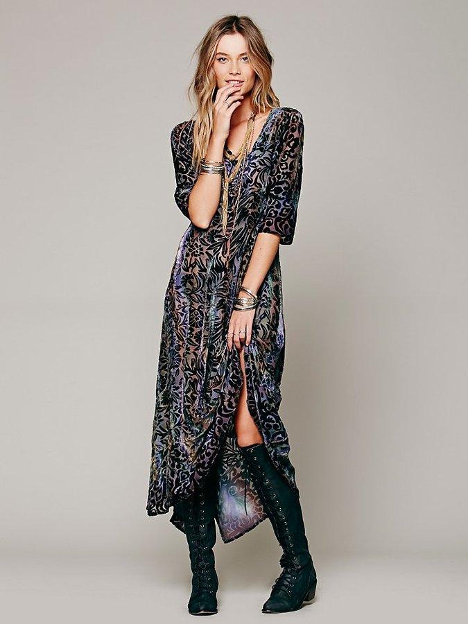 Lindsey Thornburg Country Fair Velvet Dress